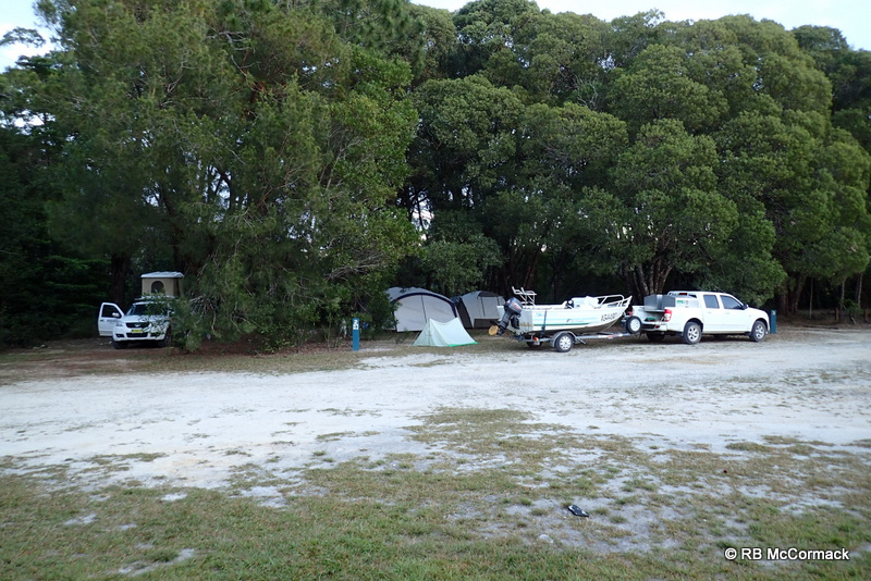 Base camp at Koombooloomba Dam